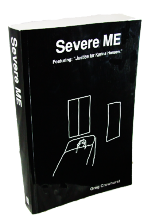 a photo of Severe ME book cover