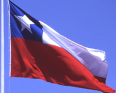 a photo of the flag of Chile