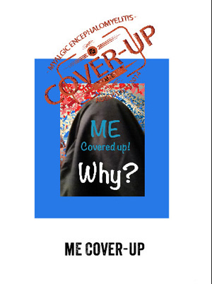 a poster saying ME Cover Up