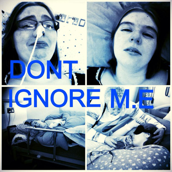 a poster saying Do Not Ignore ME