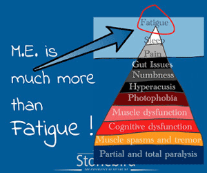 ME is much more than fatigue